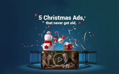Our choice of the top 5 Christmas Ads that never get old.